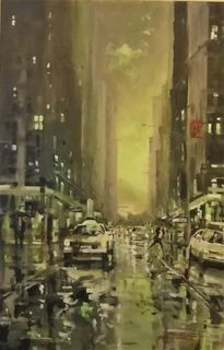 'Down Featherston Street' by Dianne Taylor