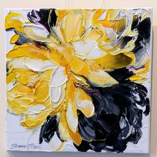 Flower Abstract 1 by Diana Peel (SOLD)