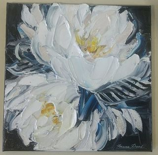 'Flower Abstract 2' by Diana Peel (SOLD)
