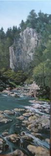 'Karanghake Gorge' by Graham Moeller (SOLD)