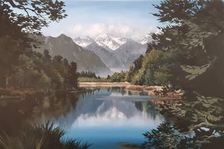 'Lake Matheson' by Graham Moeller (SOLD)