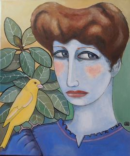 'Mildred's Canary' by Carol Wilson