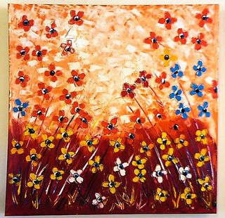 'Field of Flowers 3' by Vincent Duncan