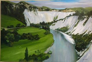 'Rangitikei River' by Graham Moeller