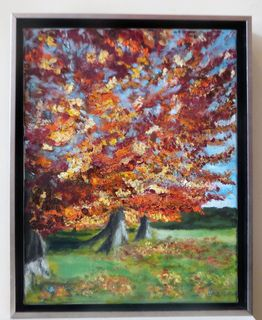 'Autumn Tree' by Mark Peck