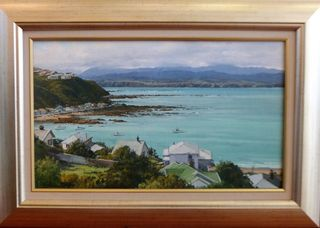 'On the Hill Island bay' by Graham Taylor (SOLD)