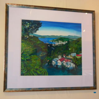 'Wellington City' by Joy de Geus (SOLD)