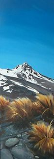 'Sharks Tooth Mt Ruapehu' by Graham Moeller