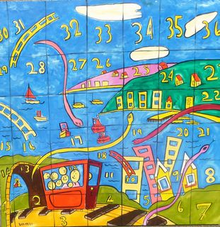 'Snakes and Ladders' by Vincent Duncan