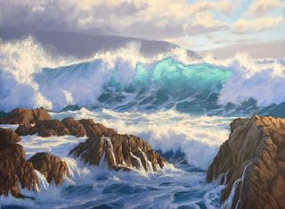 'Southerly Storm' by Sam Earp (SOLD)