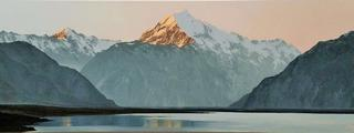 'Sunset on Aoraki Mt Cook' by Graham Moeller (SOLD)
