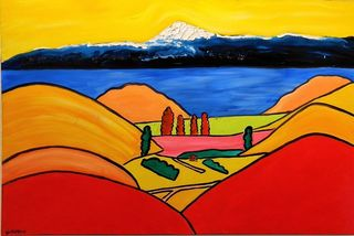 'Above Acacia Bay - Lake Taupo' by Vincent Duncan