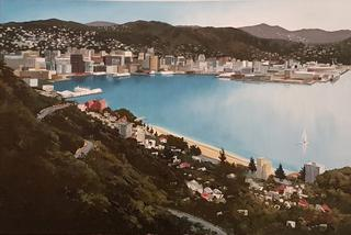 'Wellington City 2' by Graham Moeller