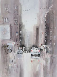 'City Rain' by Dianne Taylor
