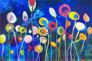 'The Flowers of Io' by Rob McGregor (SOLD)