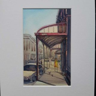 'Upper Cuba St' by Samantha Qiao (SOLD)