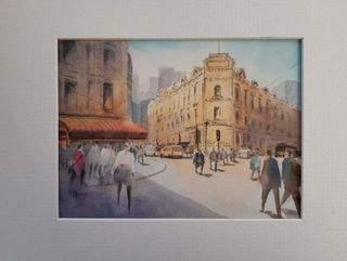 'Lambton Quay' by Samantha Qiao (SOLD)