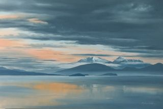 'Lake Taupo' by Graham Moeller (SOLD)