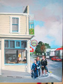 Mt Cook Cafe by Zad Jabbour (SOLD)