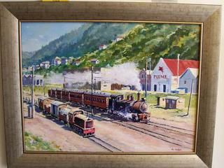'Hutt Valley Commuter' by Phil Dickson (SOLD)