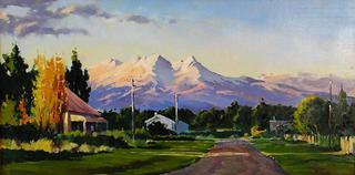 Mt Ruapehu by Phil Dickson