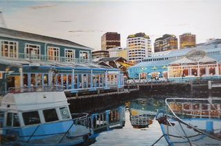 'Queens Wharf Dining' by Ronda Thompson