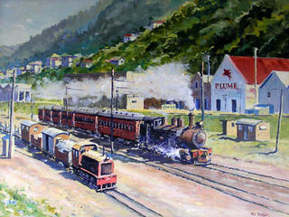 Last Steam Train Wellington by Phil Dickson