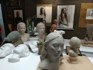 Busts by Tatyana Kulida