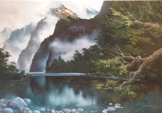 'Fiordland' by Graham Moeller
