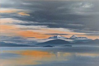 'Lake Taupo' by Graham Moeller