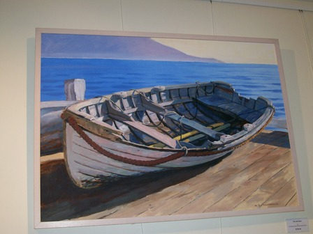 'The Old Boat' by Bill MacCormick (SOLD)