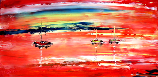 'Sunset' by Vincent Duncan (SOLD)