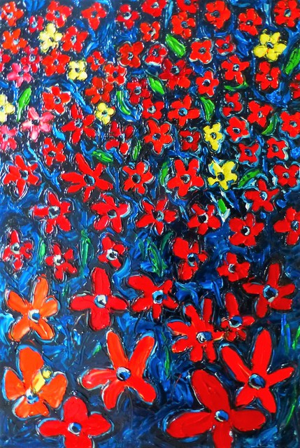 'In my Garden' by Vincent Duncan (SOLD)