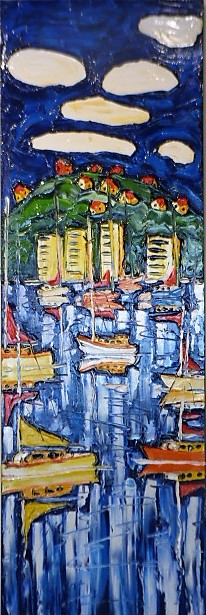 'To Oriental Bay' by Vincent Duncan (SOLD)