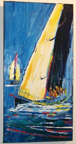 'Summer Sailing' by Vincent Duncan (SOLD)