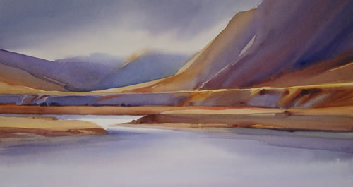 'Ahuriri River' by Adrienne Pavelka (SOLD)