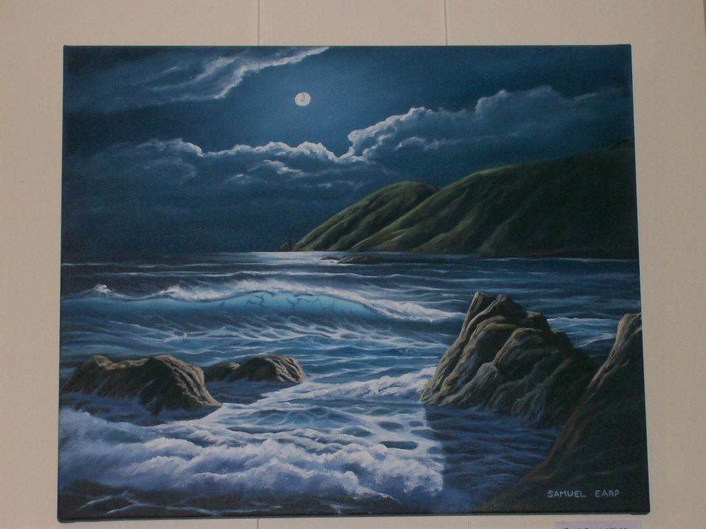'Moonlight' by Samuel Earp (SOLD)