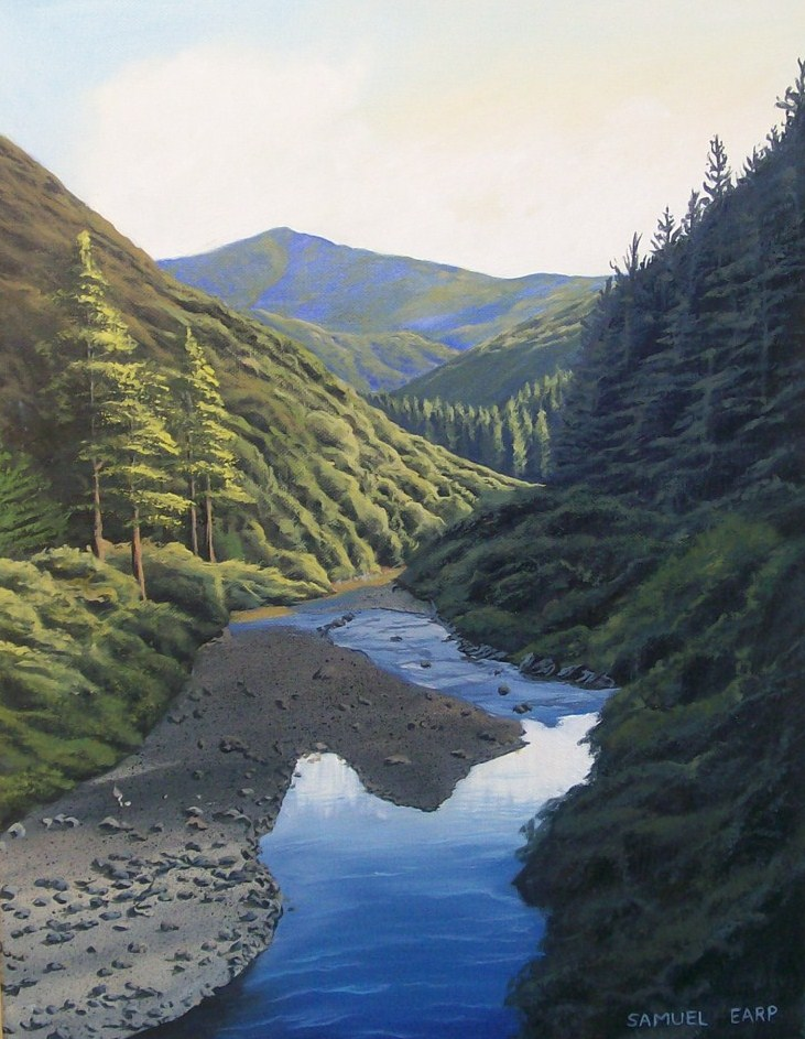 'Rimutuka Incline' by Sam Earp (SOLD)