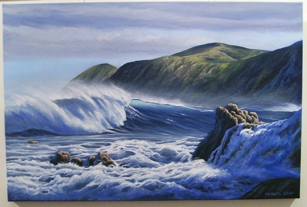 'South Coast 2' by Sam Earp (SOLD)