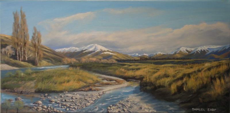 South Island Mountains Arthurs Pass (SOLD)