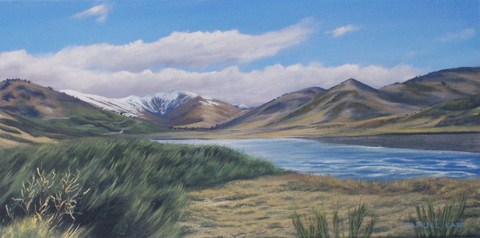 South Island Mountains Arthurs Pass 2 (SOLD)
