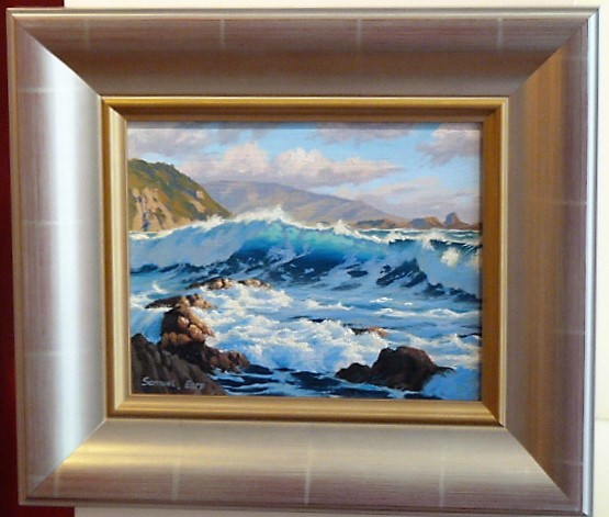 'Houghton Bay View' by Sam Earp (SOLD)
