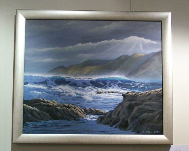 'Owhiro Bay' by Sam Earp (SOLD)