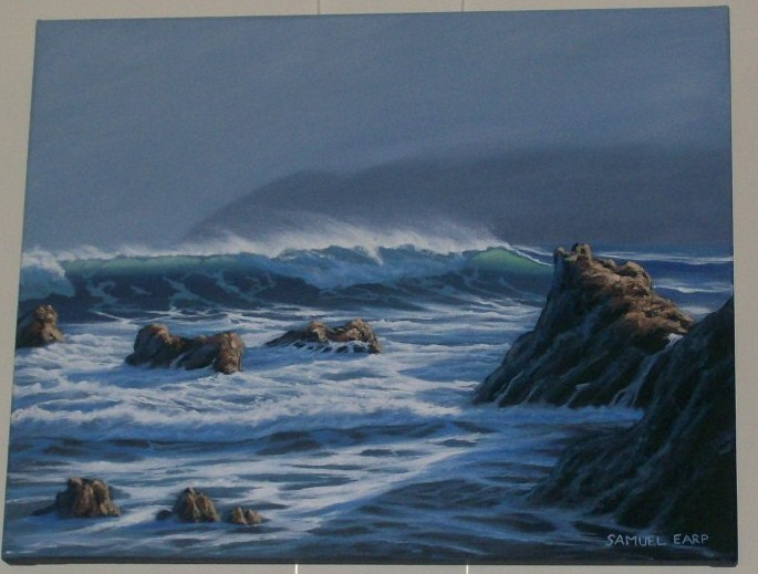 'South Coast 4' by Sam Earp (SOLD)