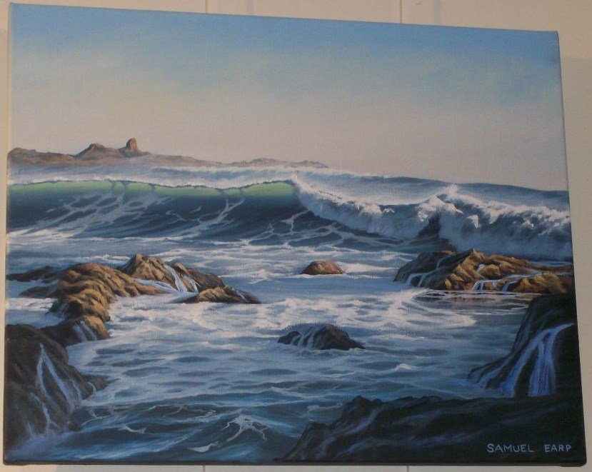 'South Coast 3' by Sam Earp (SOLD)
