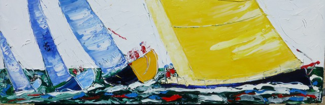 'Sunday Sailing' by Vincent Duncan (SOLD)