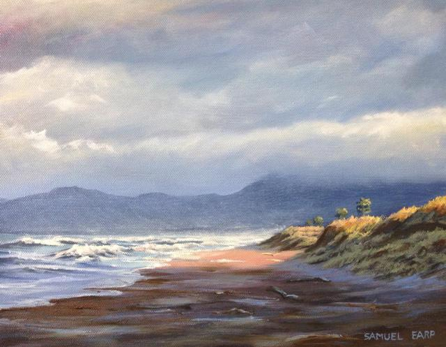 'Bay of Plenty Coastline' by Sam Earp