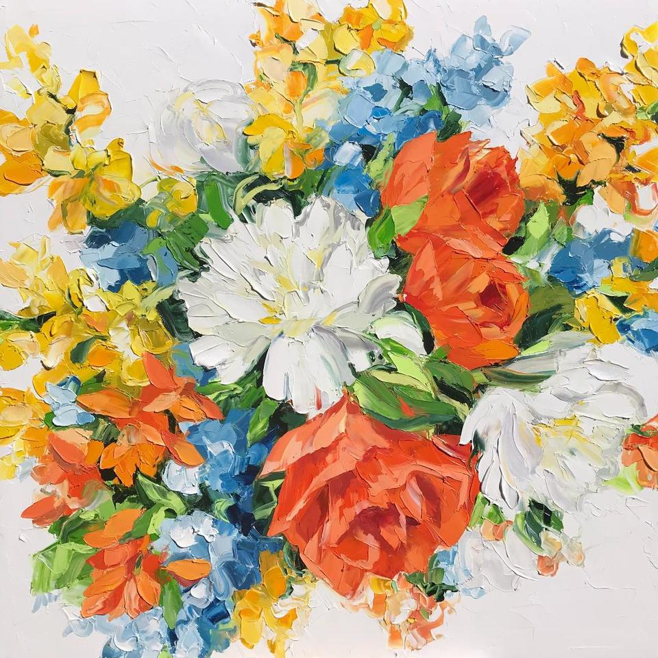 'Bouquet' by Diana Peel (SOLD)