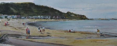 'Island Bay' by Dianne Taylor (SOLD)