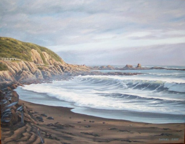 'Houghton Bay' by Sam Earp (SOLD)